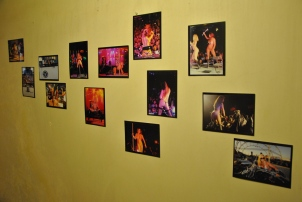 More photos on the wall