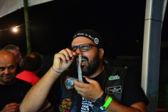 Condom in nose@34ThMotorcycleMeetingMCFaro