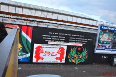 RNU in West Belfast mural