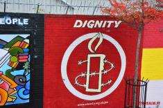 Dignity mural Belfast
