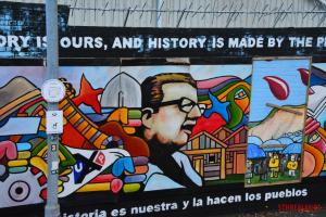 History mural Belfast
