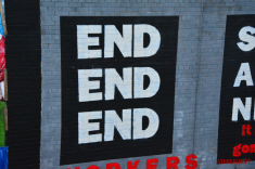 End mural in Belfast