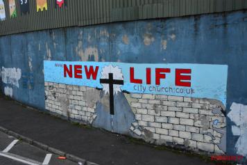 New life mural Belfat