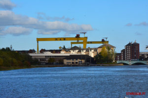 Samson and Goliath Cranes Belfast