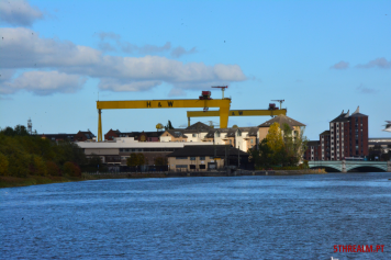 Samson and Goliath Cranes Belfast