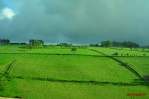 From the bus Northern Ireland