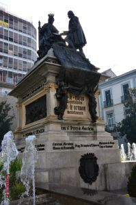 Christopher Columbus Granada Spain