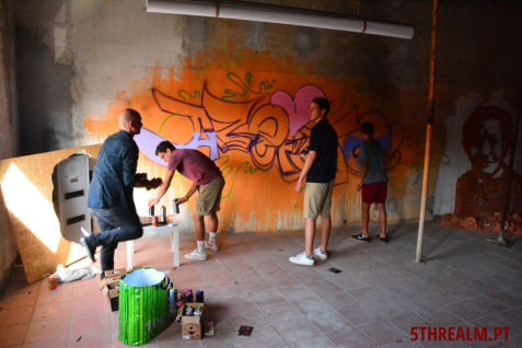 Graffiti workshop by Gerard Gademann